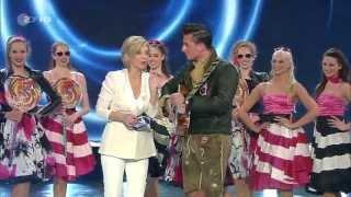 Andreas Gabalier mit -Zuckerpuppen- bei Carmen Nebel