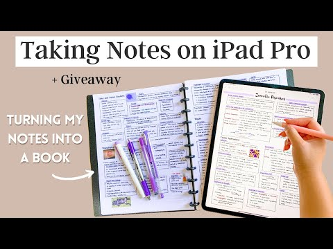 TAKING NOTES ON MY NEW IPAD PRO | UNBOXING + GIVEAWAY