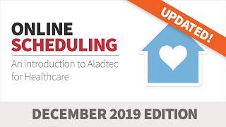Aladtec online scheduling & workforce management for healthcare (dec 2019)