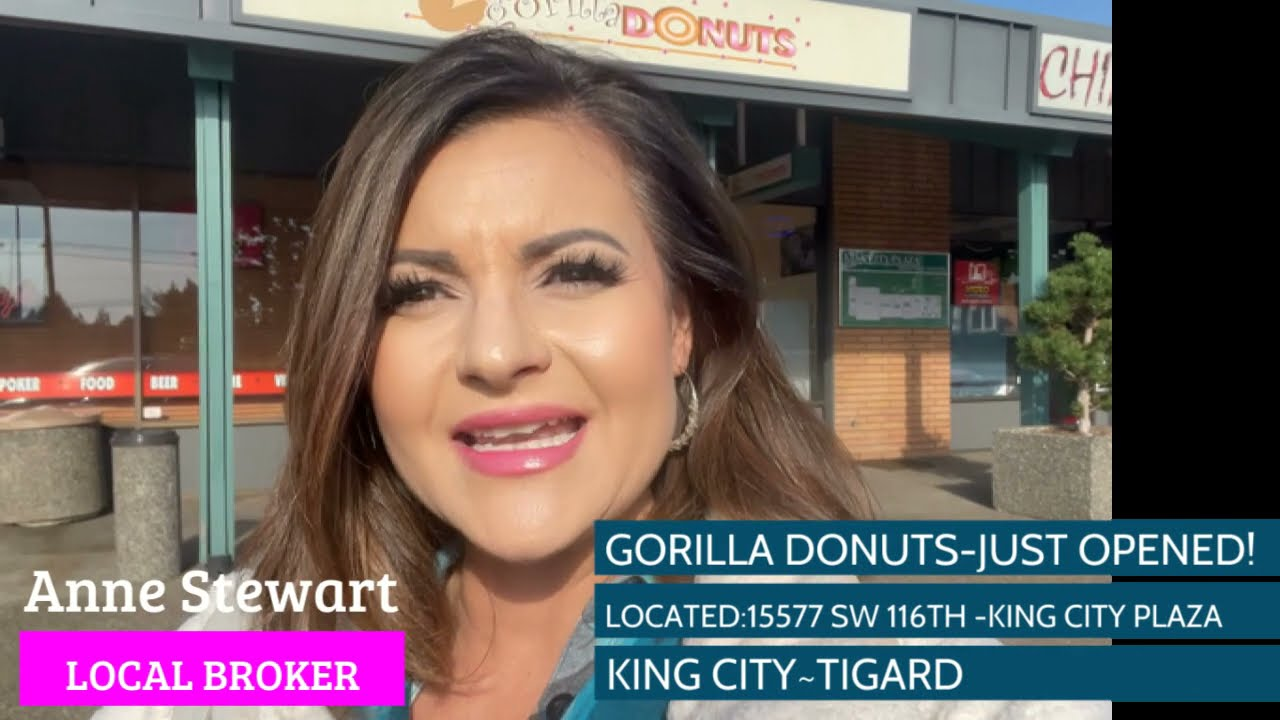 GORILLA DONUTS KING CITY OREGON