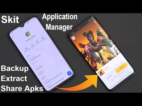 Best Application Manager For Your Android Device - Skit App (No Root Tool 4 Backup & Inspect APKs)