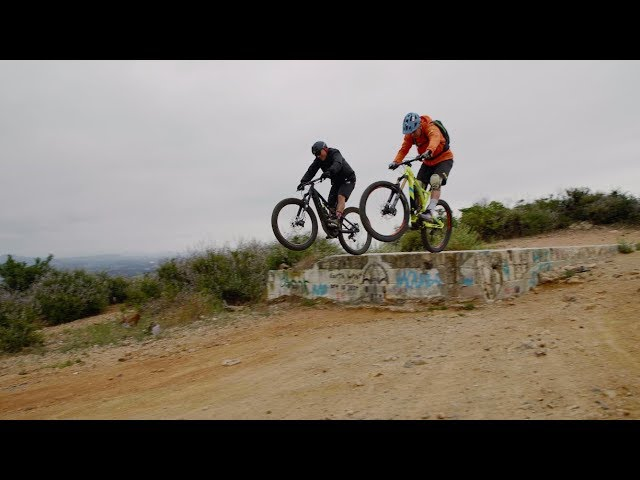 Steve Caballero and Hans Rey Mountain Biking