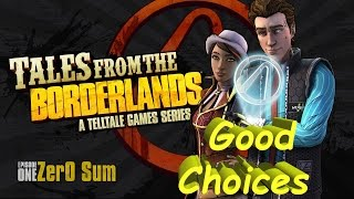 Tales From The Borderlands: Episode 1  Zero Sum Complete Walkthrough Good Choices