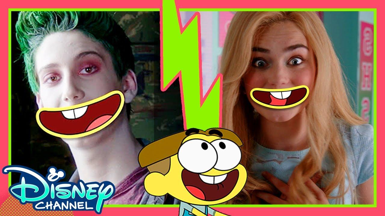 ZOMBIES Trailer x Big City Greens Parody | Lip Switch | | Disney Channel Animation