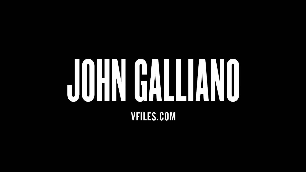 half off c6003 7238e How to pronounce John Galliano