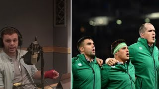 Why doesn't everyone sing the Irish National anthem? || The Rugby Pod discussion
