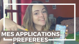 MES APPLICATIONS FAVORITES || Typhanie