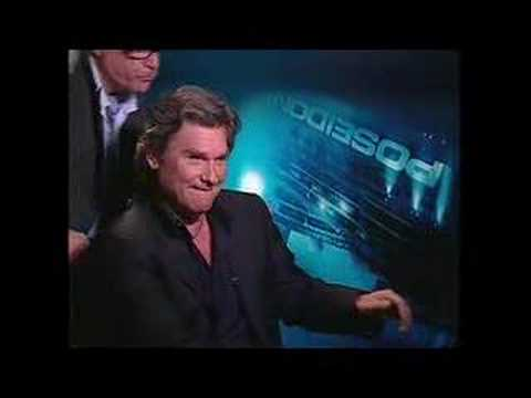 Kurt Russell interview interrupted by Richard Dreyfuss for Poseidon