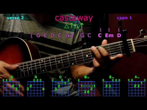 castaway zac brown band guitar chords