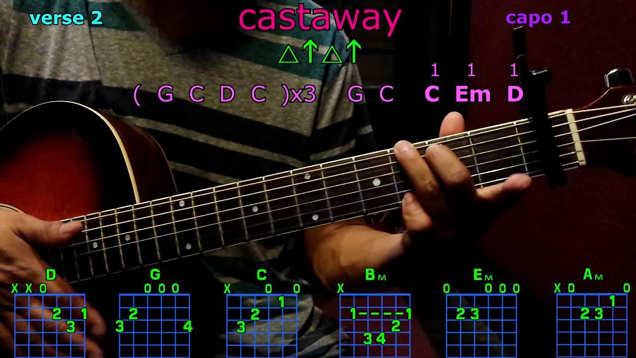 castaway zac brown band guitar chords