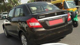 Maruti Suzuki Swift Dzire Diesel AMT Spotted Testing