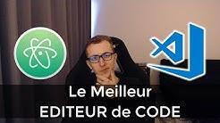 Le meilleur ÉDITEUR de CODE pour Javascript/Meteor