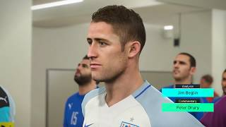 PES 2018 - England v Italy Gameplay (60fps)