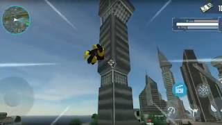 Spider Rope hero   gangster new york city android gameplay 6