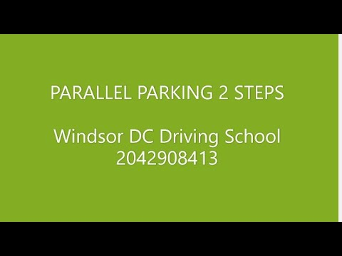 Parallel Parking - Easy 2 steps[HD]