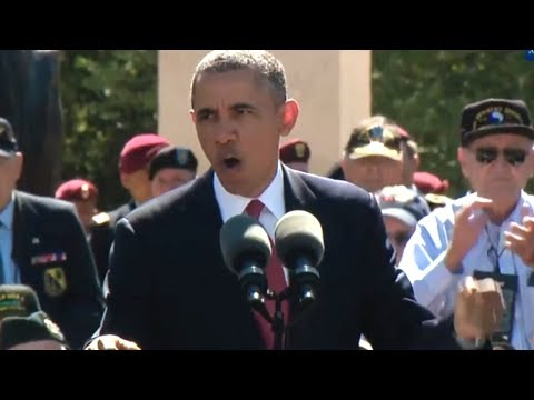 President Obama's D-Day 70th Anniversary Address (June 6, 2014)