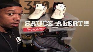 Foamposite Denim...500 Subscriber Shoe Giveaway