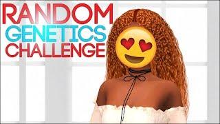 💩THE SIMS 4 CREATE A SIM || RANDOM GENETICS CHALLENGE💎