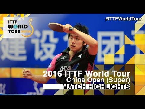 Thumbnail: 2016 China Open Highlights: Zhang Jike vs Koki Niwa (R16)