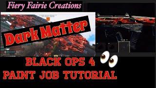 كيفية جعل المادة المظلمة التمويه: بو 4 Paint Shop التعليمي
