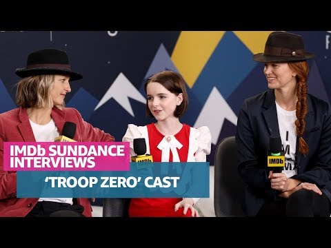 Mckenna Grace and Directors Bert & Bertie Talk About Sundance Film 'Troop Zero'