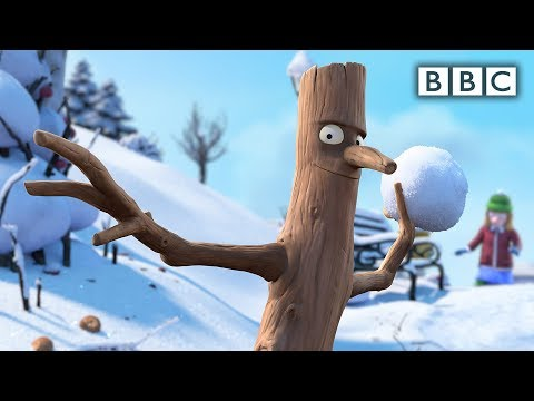 Stick family's Christmas morning - Stick Man: Preview - BBC One Christmas 2015