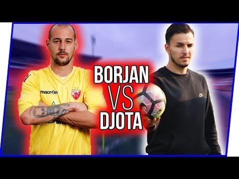 PENALTY CHALLENGE w/ Milan Borjan