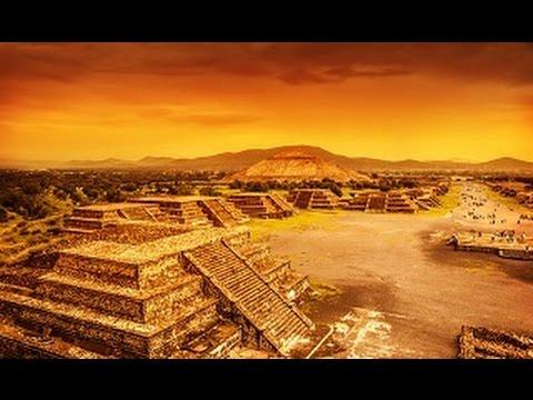 ANCIENT CIVILIZATIONS : Egyptian Pyramids and Aztec Pyramids