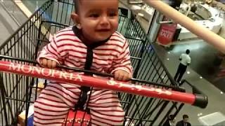 Cute Baby Laughing Loudly