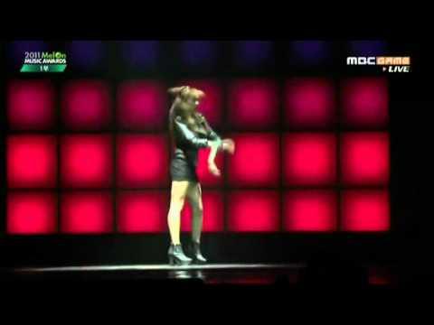 111124 f(x) Solo + Pinocchio - Melon Music Awards 2011