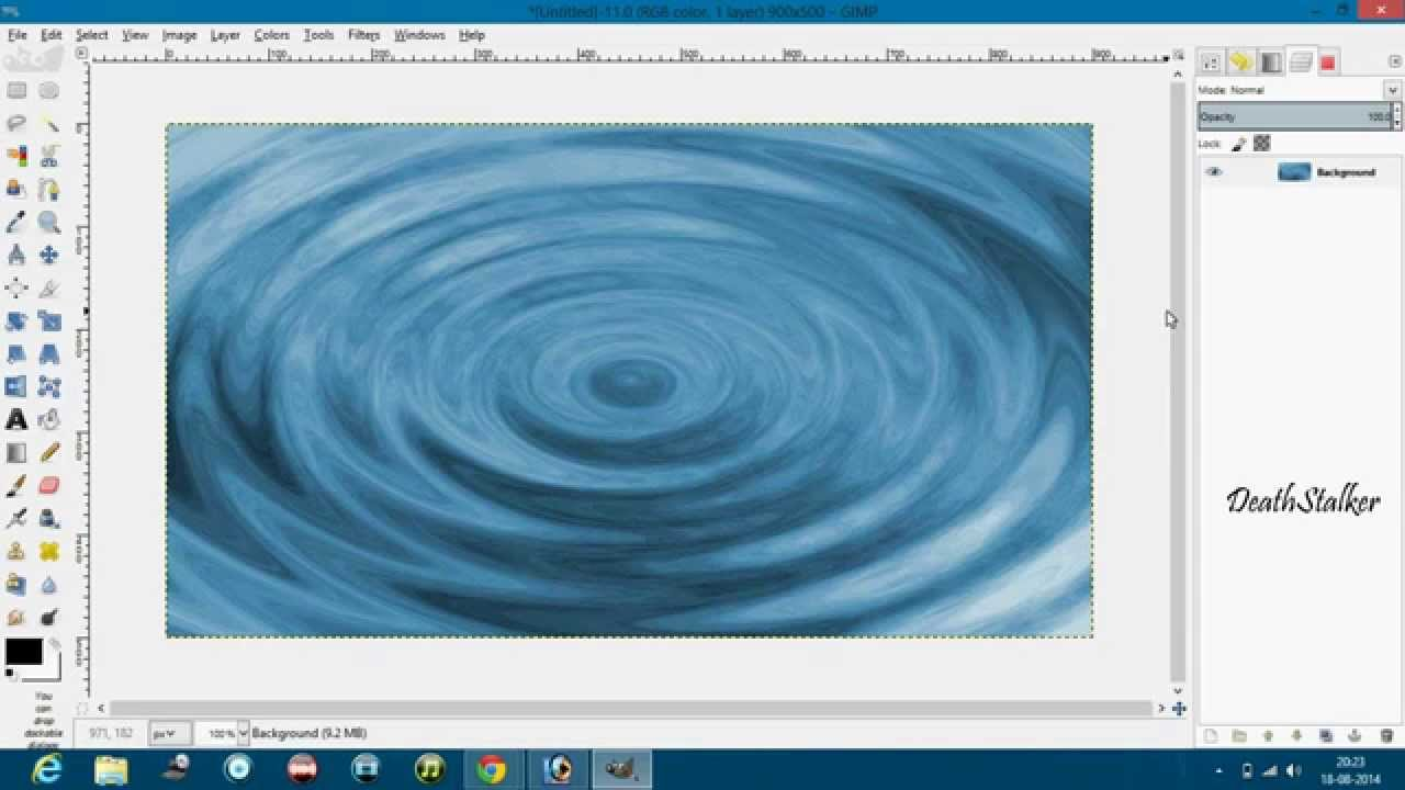 How to Make a Ripple Effect in Gimp: 8 Steps (with Pictures)