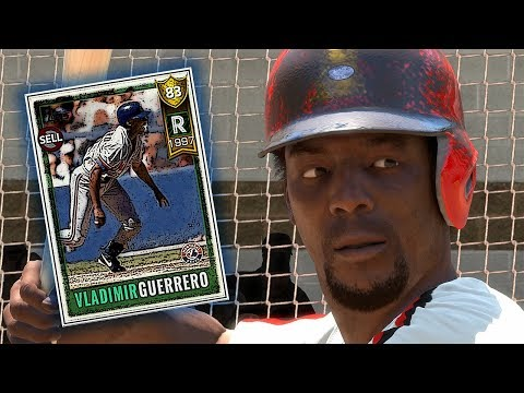 ROOKIE VLADIMIR GUERRERO DEBUT!! MLB THE SHOW 18 DIAMOND DYNASTY