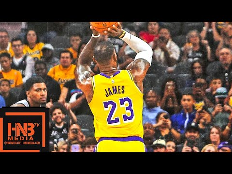 Los Angeles Lakers vs San Antonio Spurs Full Game Highlights