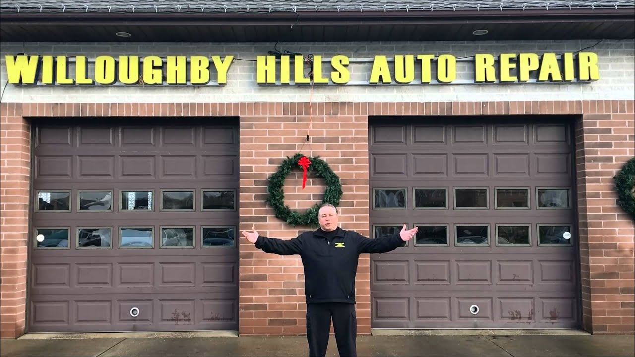 Willoughby Hills Auto Repair 2015 Christmas Video Message Youtube