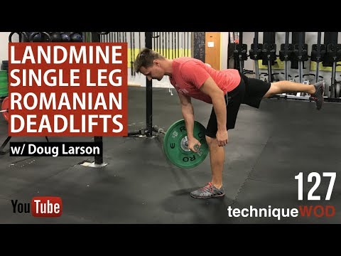 A Great Variation Of Single Leg RDLs - Hip/Glute/Hamstring - TechniqueWOD - Ep 127