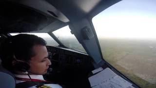 Landing at Punta Cana International Airport (MDPC), Airbus A320-214 N562AV Avianca