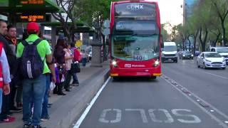 Video British double-decker buses hit Mexico City download MP3, 3GP, MP4, WEBM, AVI, FLV Juli 2018