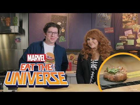 Julie Klausner and the Captain America Beef Tongue | Eat the Universe