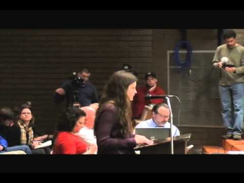 Cranston School Committee Meeting January 18, 2012 Taylor Grenga and Jessica Ahlquist