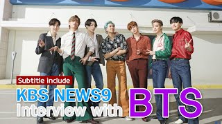 KBS News9 Interview with BTS [Subs / 2020.09.10]