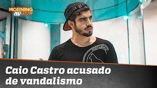 Eita! Caio Castro é acusado de vandalismo na Espanha