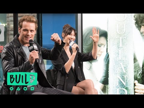 "Caitriona Balfe & Sam Heughan Talk About ""Outlander"""