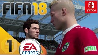 Fifa 18 let's play ★ 1 ★ erstmal warm werden ★ switch edition ★ deutsch