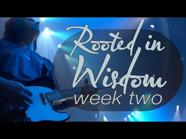 Rooted in Wisdom | Week 2 | Sunday Mass for June 27