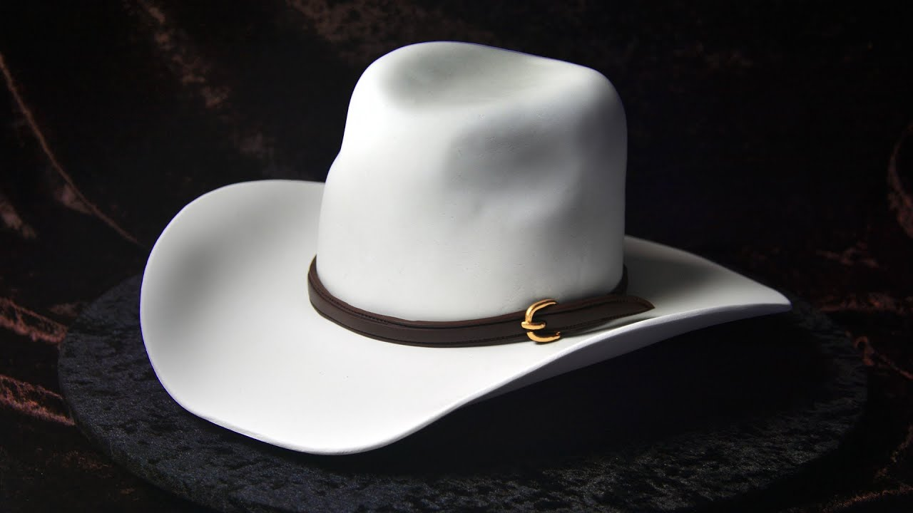 3D Cowboy Hat Cake Tutorial Sample YouTube
