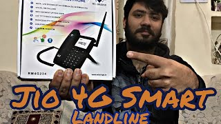 Jio 4G Smart Landline Phone Unboxing and Review !!