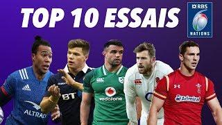 Les 10 plus beaux essais du tournoi des 6 Nations 2018 (HD)