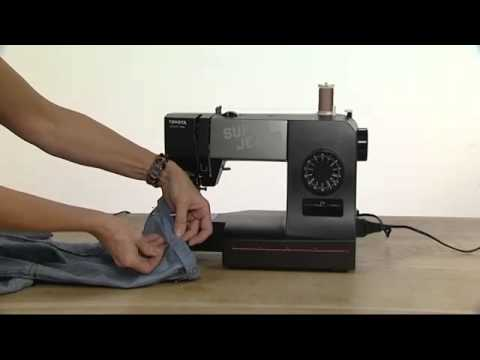 toyota super jeans 15 sewing machine youtube. Black Bedroom Furniture Sets. Home Design Ideas
