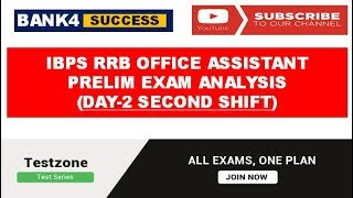 IBPS RRB Assistant Prelim Exam Analysis held on 17th September (Day-2 Second Shift) 2017 Video
