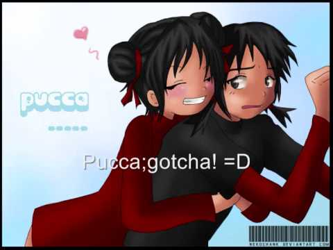 Pucca The First Time Met Garu Youtube